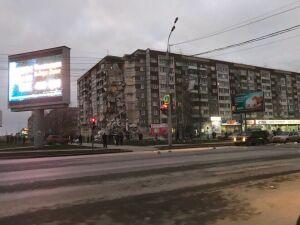Видео: девять этажей жилого дома обрушились в Ижевске