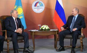 Путин обсудил с Назарбаевым актуальные вопросы двустороннего сотрудничества