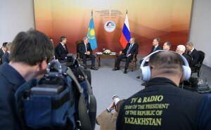 Назарбаев на встрече с Путиным вспомнил, как пил пиво в Челябинске