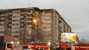 В жилом доме Ижевска взрывом разрушены 8 квартир, в которых жили 28 человек