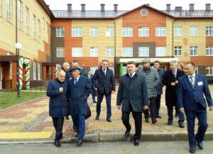 Новую татарскую школу на 500 мест открыли в Арском районе