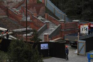 Реставрируемой у КФУ парадной лестнице 1924 года возвращают исторический облик