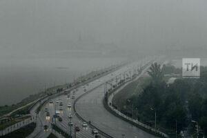 В Татарстане местами ожидается туман