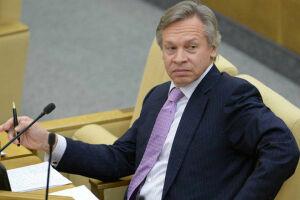 Пушков назвал истинный смысл заявления Собчак об антироссийских санкциях