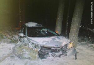 Женщина-водитель и ее пассажир получили серьёзные травмы в аварии под Челнами