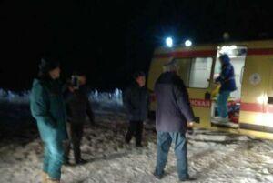 В Татарстане на Каме на поиски рыбаков подняли вертолет