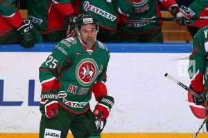 Зарипов впервые забил за «Ак Барс» после возвращения