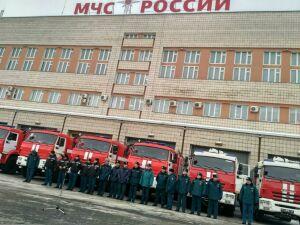 Пожарным МЧС Татарстана вручили новую технику