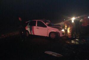 В Атнинскую больницу после столкновения автомобилей привезли троих человек