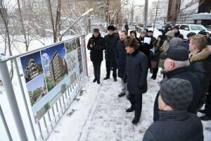 Минниханов провел выездное совещание по строительству нового жилья в Казани