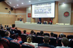 Молодежное правительство Татарстана метит в лидеры федерального рейтинга