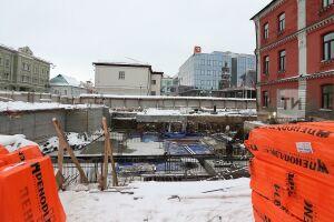 В Казани рядом с ИТ-парком строители «нащупали» подземную реку