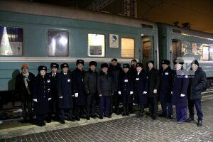 В Казань прибыл первый пассажирский поезд из Алматы с загрузкой в 70 процентов