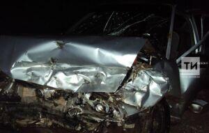 Фото: В Кукморском районе столкнулись две иномарки