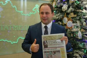 Азат Абзалов принял участие в акции «Подари подписку»