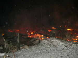 В своем доме в Агрызском районе сгорел 77-летний мужчина