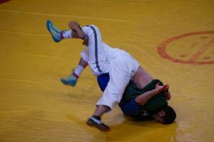 В Казани стартовал Всероссийский турнир по борьбе на поясах