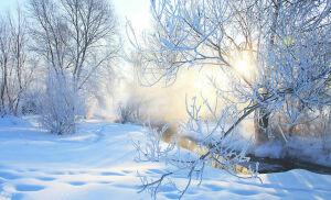 В выходные в Татарстане похолодает до 30 градусов мороза