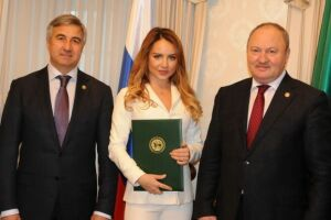 Рустам Минниханов присвоил певице МакSим звание «Заслуженный артист РТ»