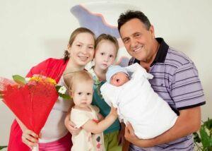Ренат Ибрагимов в восьмой раз стал отцом