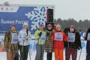 Сотрудники Минкультуры РТ приняли участие в «Лыжне России-2017»