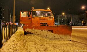За минувшую неделю в Казани выпала половина месячной нормы снега
