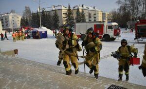 В Казани прошли масштабные учения по эвакуации людей при пожаре