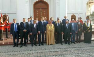 Рустам Минниханов опубликовал в соцсетях фотографию с королем Бахрейна