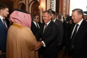 Король Бахрейна назвал Татарстан одним из наиболее успешных российских регионов