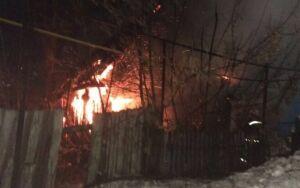 Появились фото чистопольского пожара, унесшего жизни двух малышей