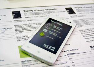 Доля смартфонов в сети Tele2 превысила 50 процентов
