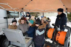 Росгвардия провела «Урок мужества» для казанских школьников