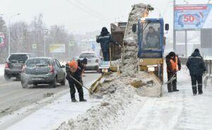 Зазиму сказанских улиц вывезли 650тыс. тонн снега