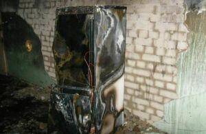 Фото: житель Казани получил ожоги на пожаре на Магистральной