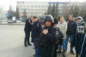 Фото: на Южном автовокзале в Казани эвакуировали людей