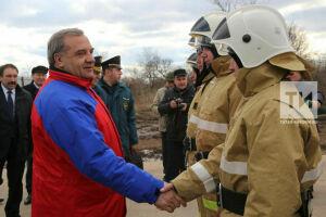 Глава МЧС РФ ознакомился с культурным наследием и работой пожарных в Свияжске