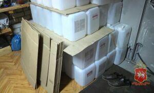 Видео: полиция Татарстана изъяла из бутлегерской сети 46 тонн фальсификата