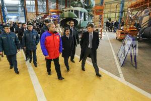 Глава МЧС РФ директору КВЗ: Подписываем контракт по Ансатам на 2017 год