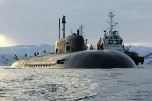 На службу ВМФ России поставят самую большую атомную подлодку в мире