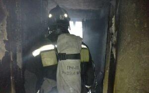 Пожарные эвакуировали 6 человек из дома в Нижнекамске