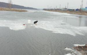 В Нижнекамском районе пенсионерка провалилась под лед