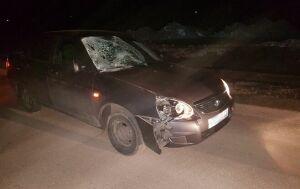 Фото: В Нурлате водитель «Лады Приоры» сбил пешехода