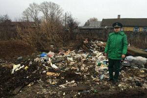 В Чистополе обнаружены свалки мусора