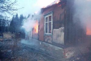 На пожаре в Зеленодольском районе погиб 35-летний мужчина