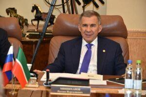 Президент РТ мэру Риги: «Мы заинтересованы во взаимовыгодной кооперации»
