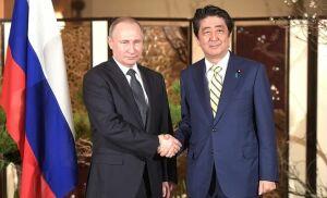 В Кремле стартовала встреча Президента РФ с Премьер-министром Японии