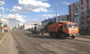 В Елабуге начался ремонт дорог