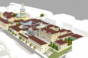 Исторический квартал гостиницы Дворянского собрания может стать VIP-зоной с элитным детским садом