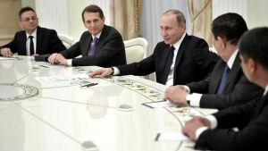 Путин встретился с руководителями органов безопасности и спецслужб