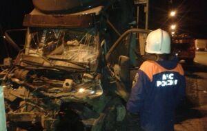 Фото: В Зеленодольском районе погиб водитель «ГАЗели», столкнувшейся с грузовой фурой